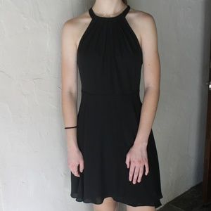 Halter Little Black Dress Express Cocktail Dress